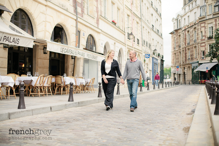 Engagement French Grey Photography Alice Fred 1