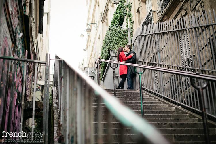 Engagement Paris French Grey Photography Kaede 011