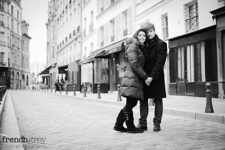 Engagement Paris French Grey Photography Valery 007