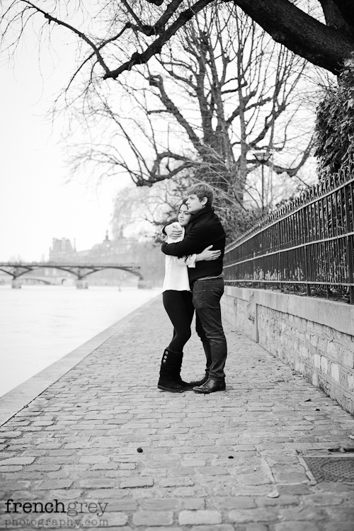 Engagement Paris French Grey Photography Valery 008