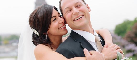 Elopement wedding at Chapelle Expiatoire Paris