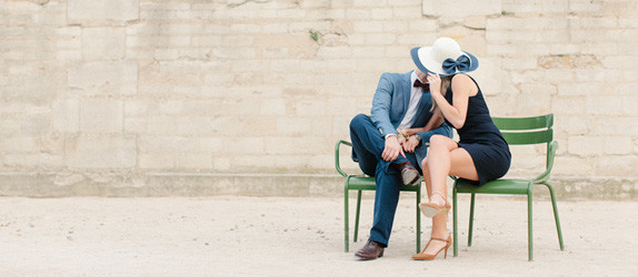 Versailles engagement photography
