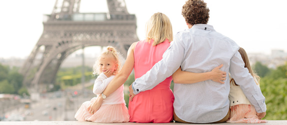 Paris family photography