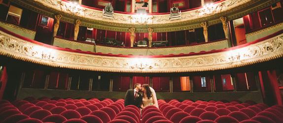 Paris theatre elopement